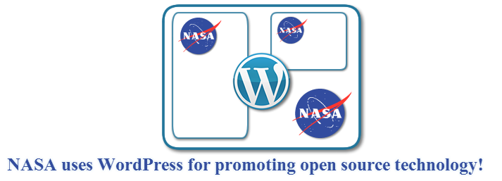 NASA uses WordPress for promoting open source technology!