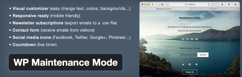 wordpress-maintenance-mode