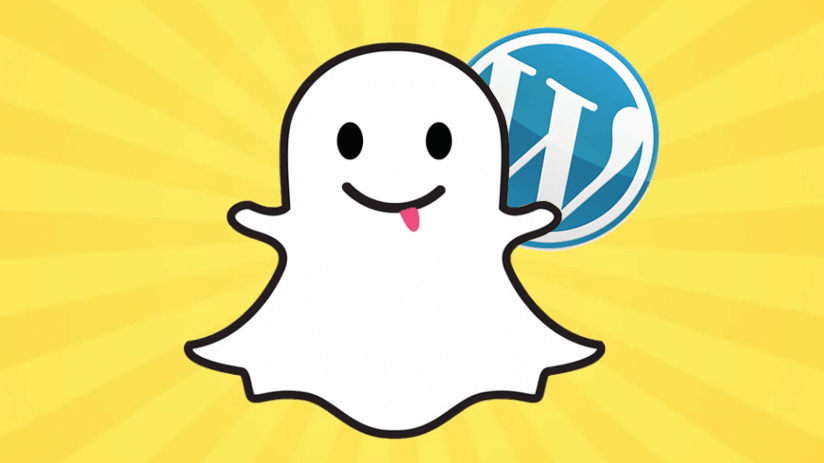 How to add Snapchat on a website or a WordPress Blog?