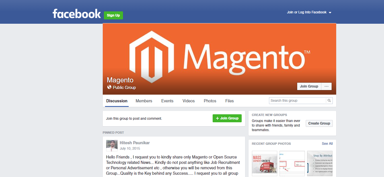 magento-public-group-facebook
