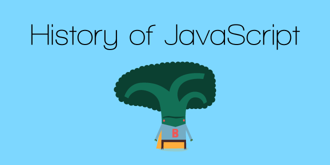 JavaScript # 1 – A Brief History of Language