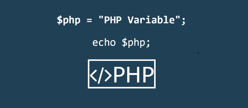 PHP And Its Variables (basic)