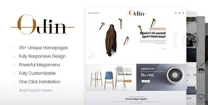 Odin - Furniture Theme for WordPress